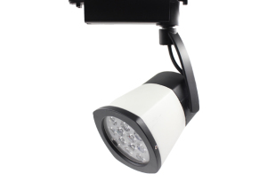 Led track lighting with rgb and remote control lamfield wireless remote rgb 12w track light aloadofball Image collections
